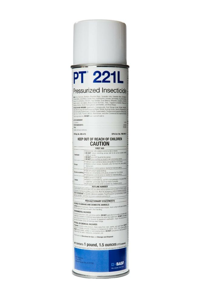 Pt 221l Residual Insecticide 6 17 5 Oz Cans Ebay