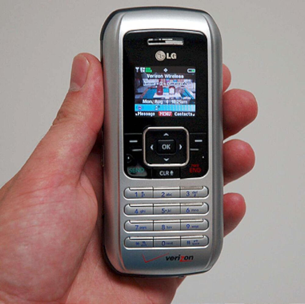 LG enV VX9900 Verizon Wireless Cell Phone vx-9900 SILVER ...