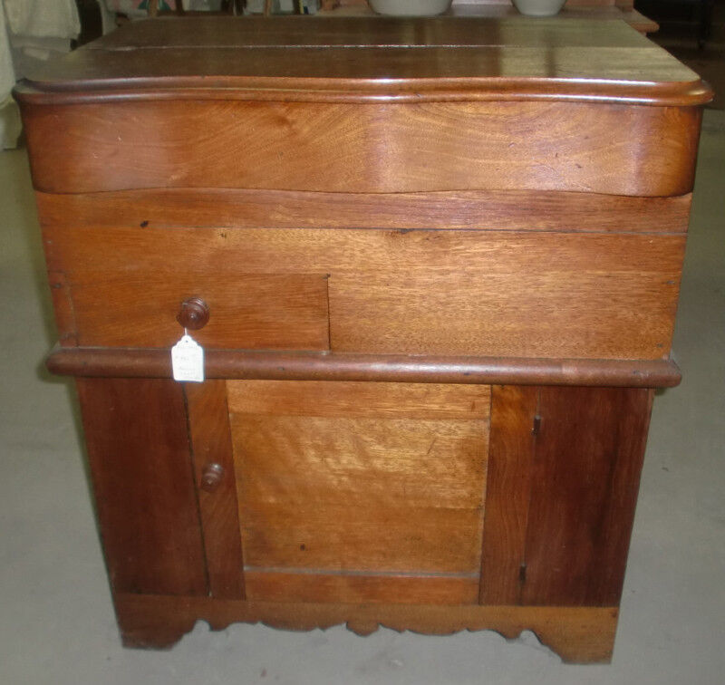 Antique Lift Top Commode Washstand Ebay