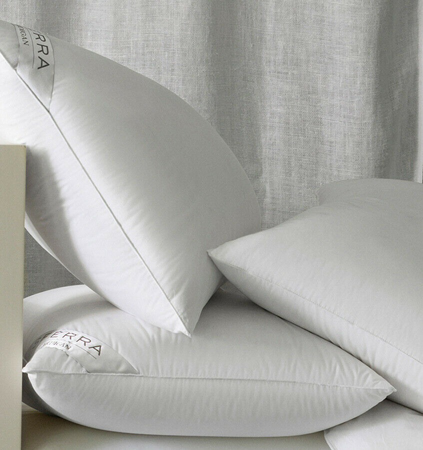 Sferra cardigan siberian white goose down pillows with 800 for Buy goose down pillows