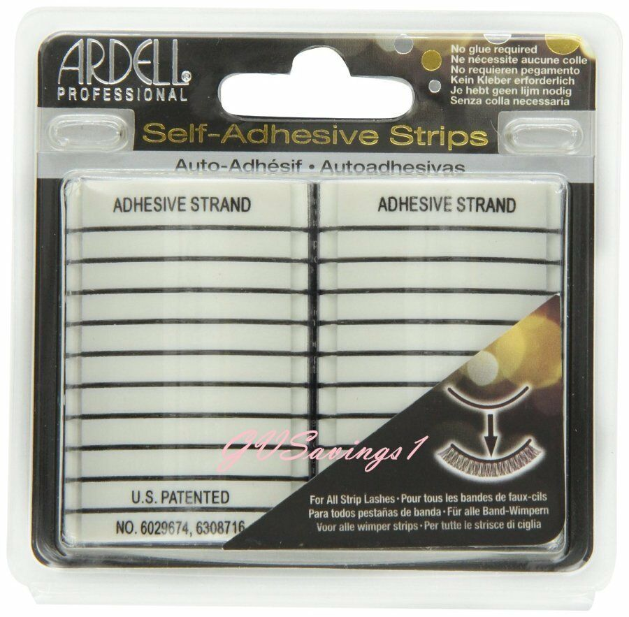 20 strips ardell self adhesive strips false eyelash fake - Imitation faience adhesive ...