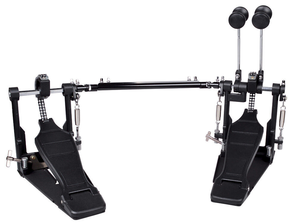drum pedal double bass pedal foot kick drum set percussion dual pedals new ebay. Black Bedroom Furniture Sets. Home Design Ideas