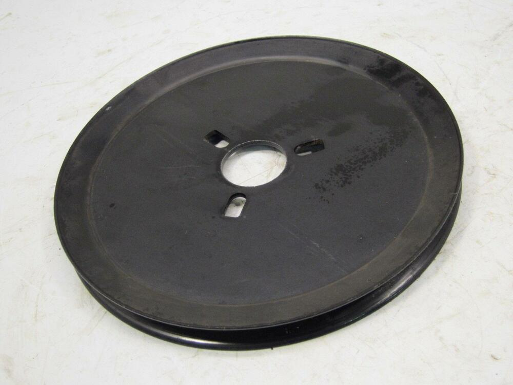Yard Machine Pulleys : Yard machines mtd cc quot snow blower thrower auger drive belt pulley sheave