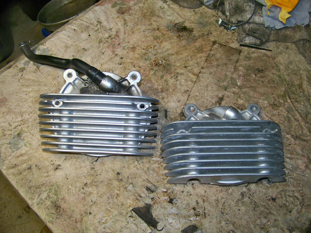 1993 yamaha xv535 xv 535 virago engine cylinder jug covers ebay. Black Bedroom Furniture Sets. Home Design Ideas