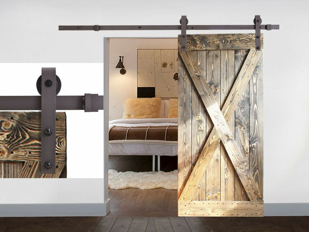 black coffee antique style steel sliding barn rustic wood. Black Bedroom Furniture Sets. Home Design Ideas