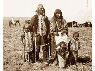 1880 39 s native american indian family shoshone agency for Native agency