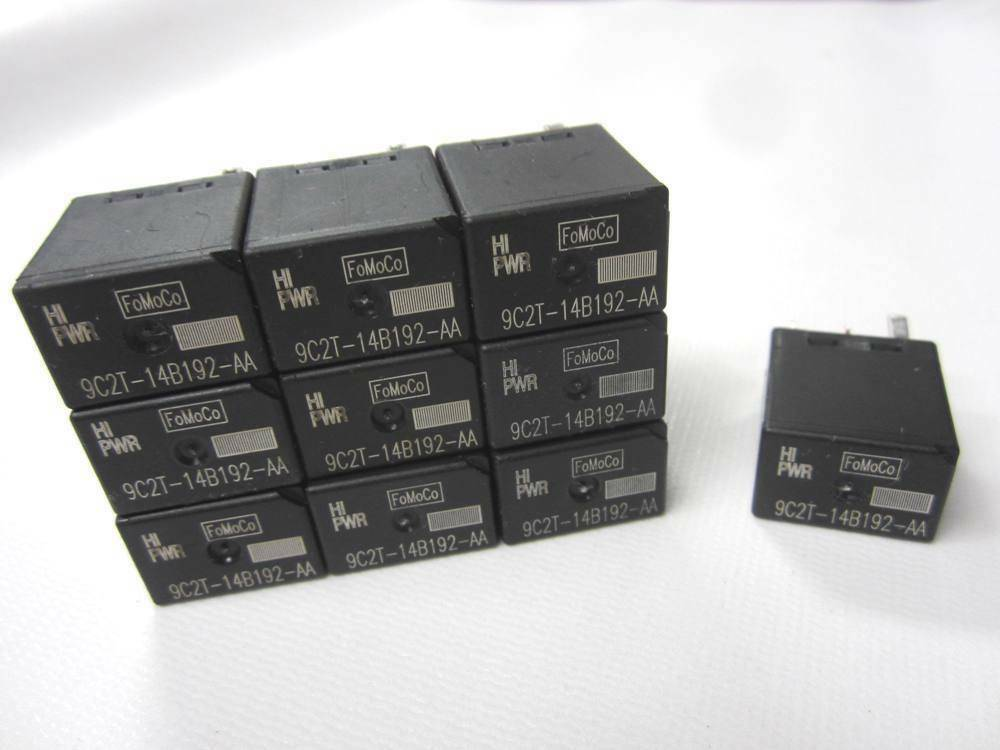 10 Lot Econoline Oem New Take Off Ford Fuse Box Tow Relay Fomoco 9c2t
