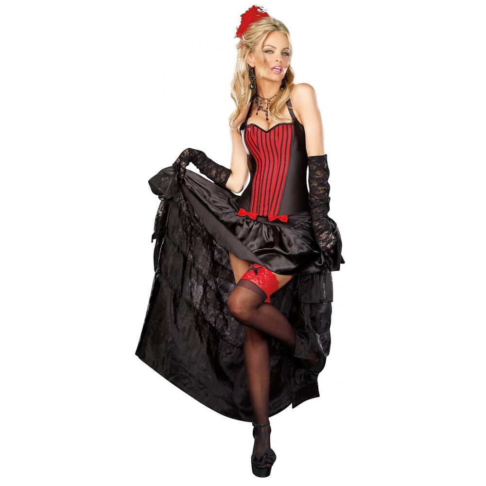 Saloon Girl and Can-Can Dancer Costumes for Women