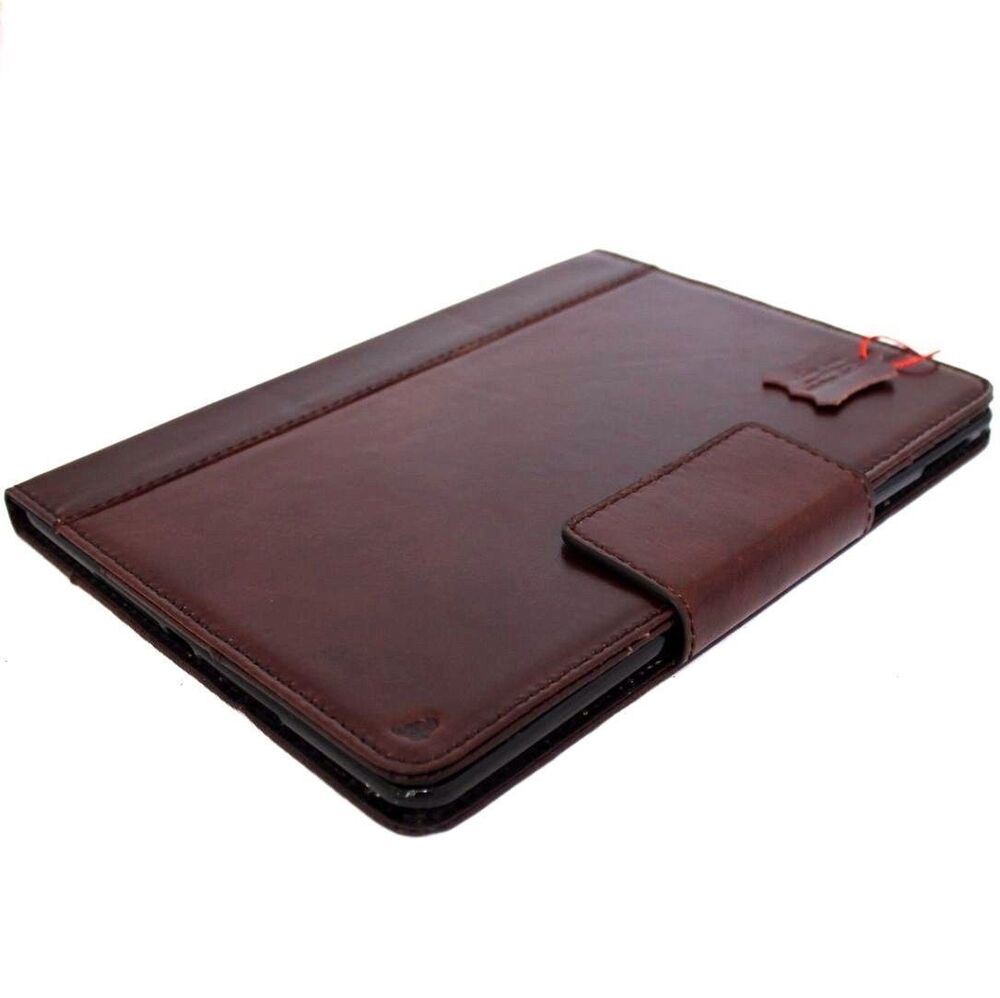 genuine real hard leather case for apple ipad air 2. Black Bedroom Furniture Sets. Home Design Ideas