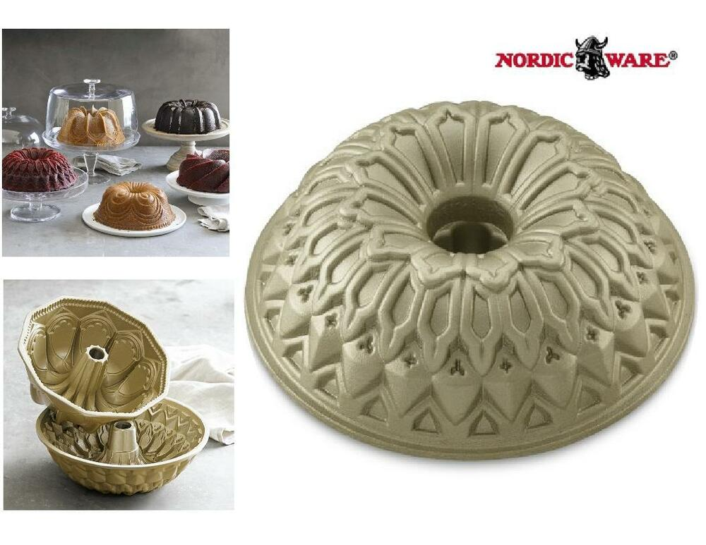 Nordicware 10 Quot Stained Glass Bundt Cake Pan French