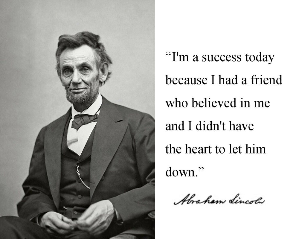 abraham lincoln quotes on success pdf