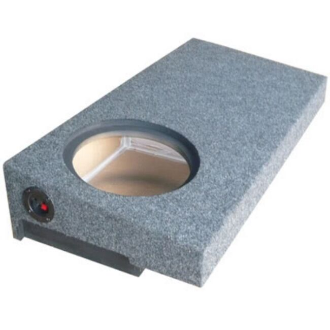 how to set up sub woofer in truck