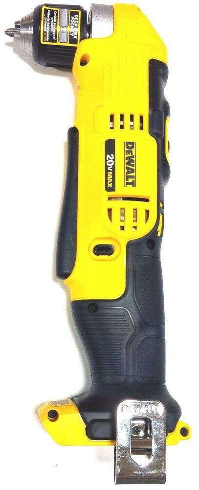 New Dewalt DCD740 20V 3/8 Cordless Battery Right Angle ...