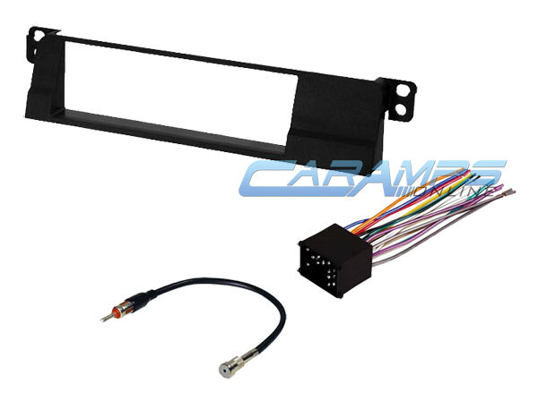 99-01 e46 3-series car stereo radio kit dash installation ... bmw e46 aftermarket radio wiring harness 2000 ford taurus aftermarket radio wiring harness