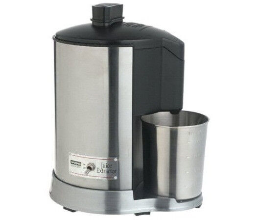 Waring Pro Brushed Stainless Steel Health Juice Extractor