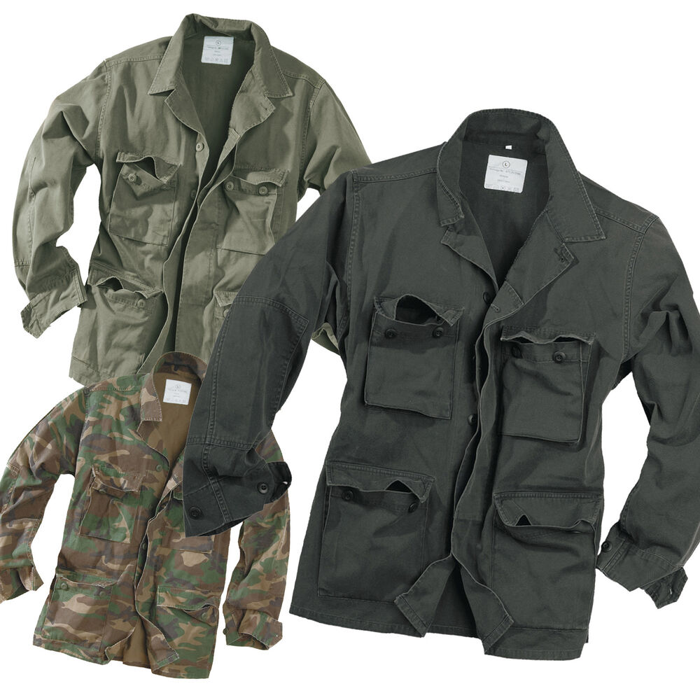The U.S. Army camo jacket comes in the standard digital camo in colors of green, brown, and tan, and many are lined to provide extra warmth during cold winter months. The U.S. Army field jackets are worn by those who serve in combat and non-combat zones, .