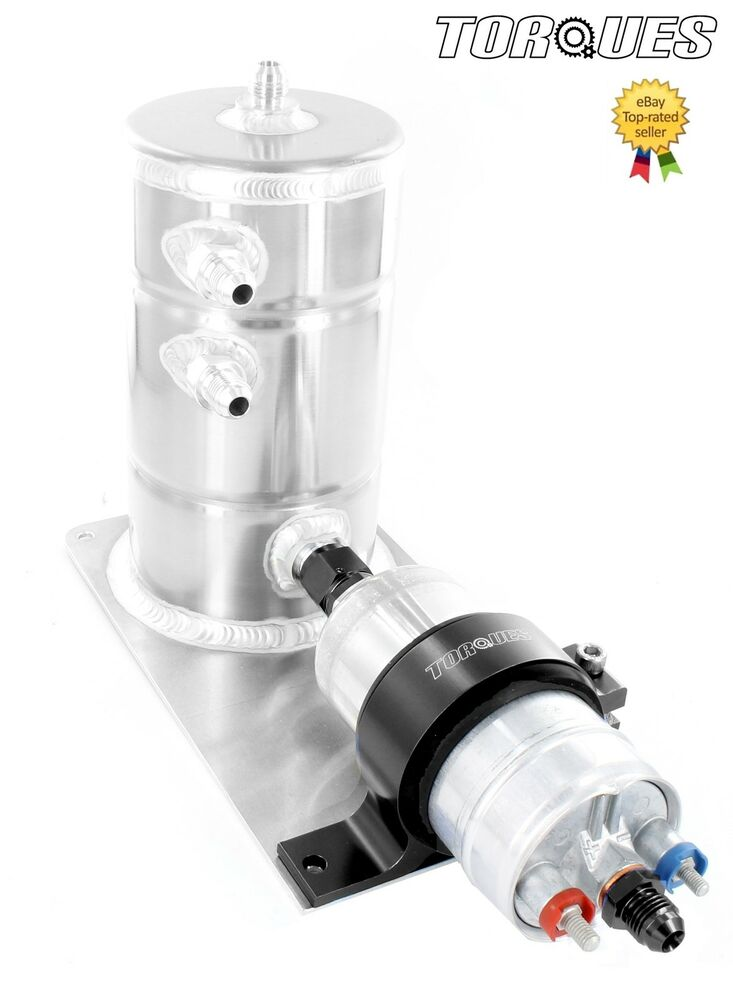 Bosch 044 fuel pump and swirl pot tank assembly in black for Bosch outlet