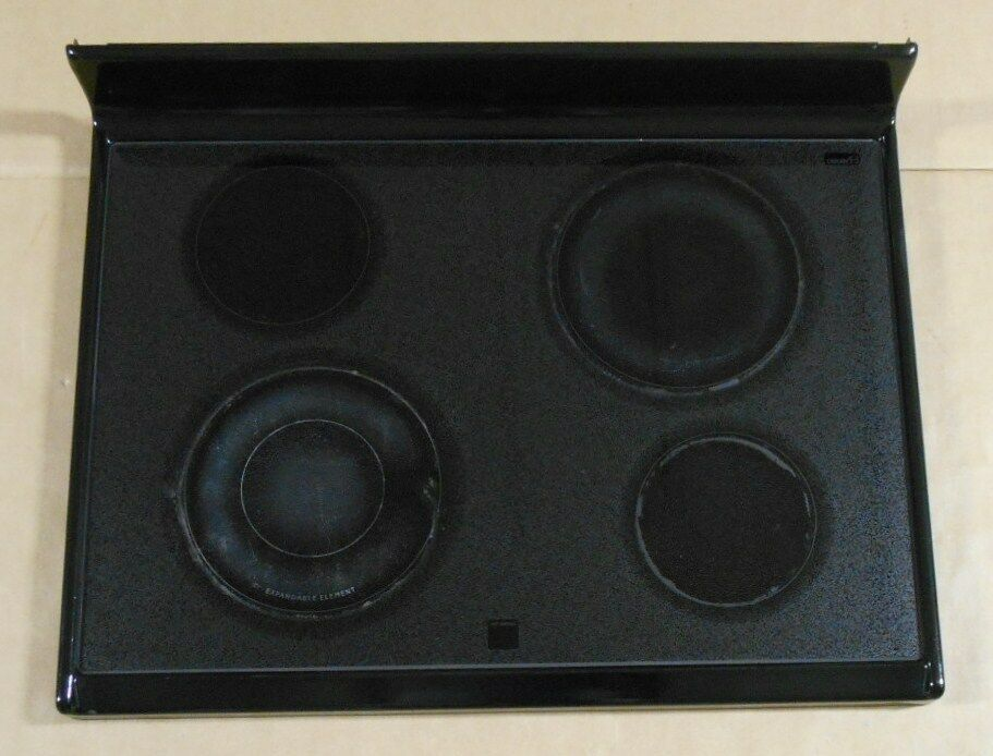 Kenmore Frigidaire Parts >> Frigidaire Range Glass Cooktop Cook Top 316035530 BLACK FEF368CCBC VF54311543 | eBay