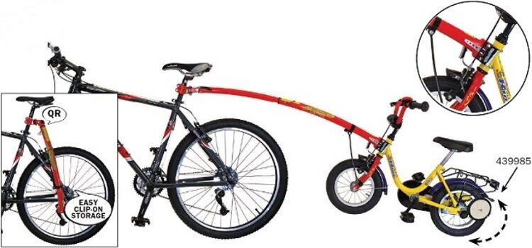 trail gator tandemstange inkl fixierstange trailgator kinder fahrrad anh nger ebay. Black Bedroom Furniture Sets. Home Design Ideas