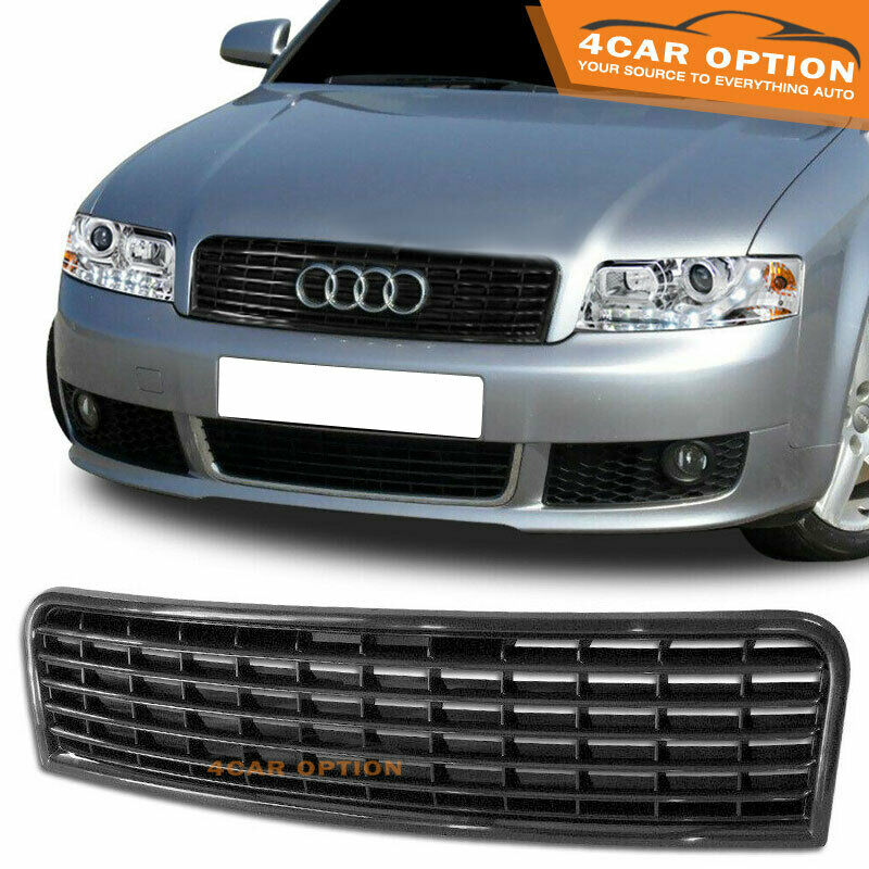 02 05 Audi A4 Front Black Grill Grille Mesh Ebay