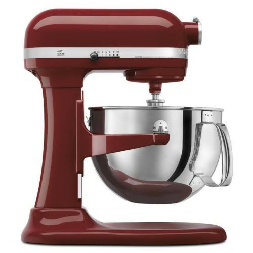 new kitchenaid 600 big capacity 6 quart pro stand mixer silver gloss cinnamon ebay. Black Bedroom Furniture Sets. Home Design Ideas