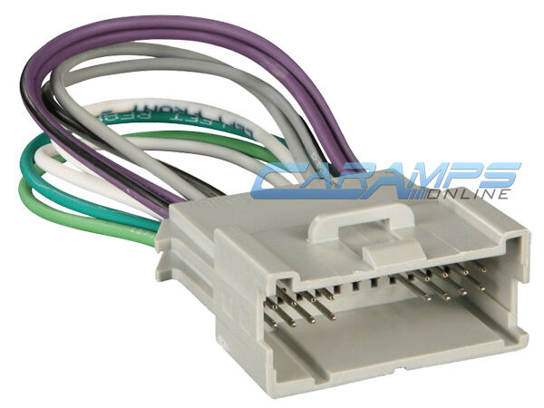 amp wiring harness for cb chevy impala / monte carlo car stereo radio installation ...