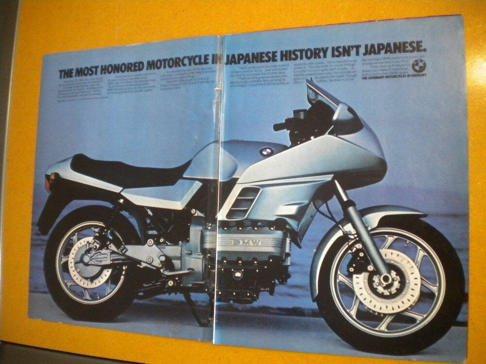 bmw k series pin up ad moto guzzi 850 le mans iii ad from american motorcyclist ebay. Black Bedroom Furniture Sets. Home Design Ideas