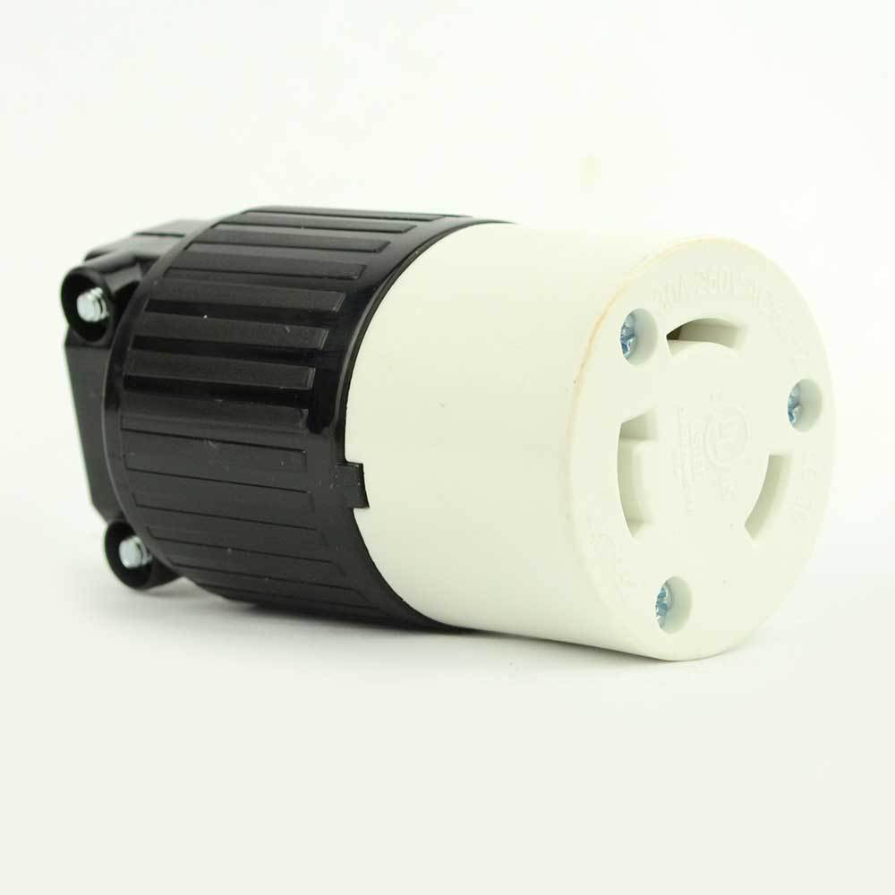 Twist Lock Electrical Receptacle 3 Wire  30 Amps  250v