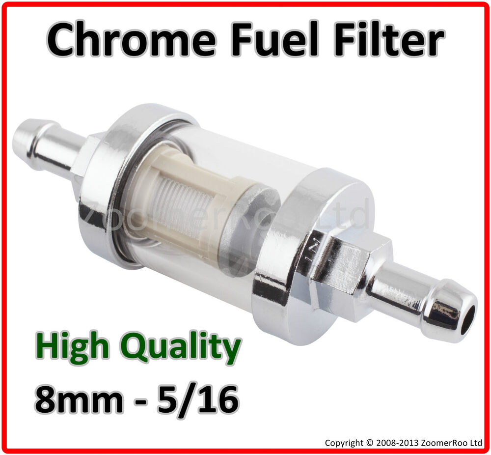 land rover series 1 2 3 fuel filter inline chrome