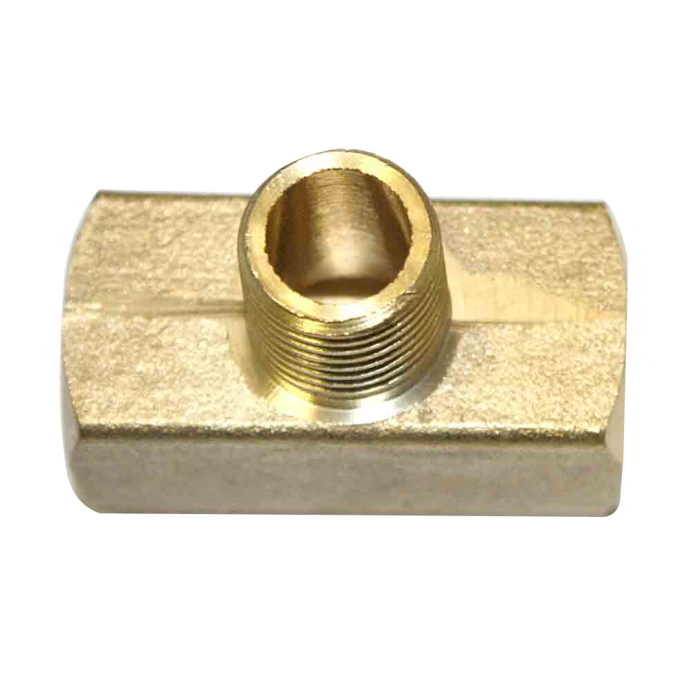 Brass branch tee fitting quot npt female fp tb ebay