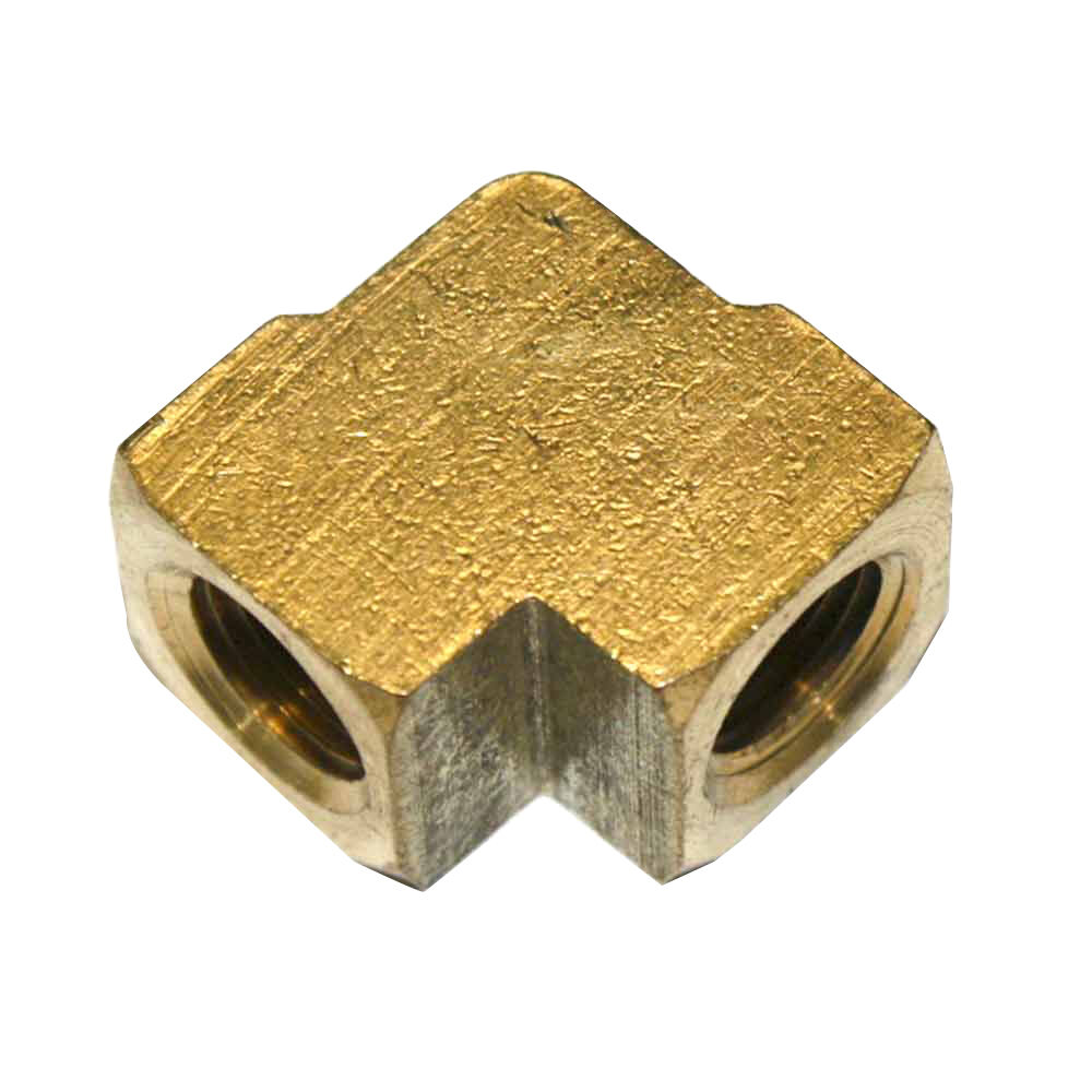 Brass elbow fitting quot npt female fpe ebay