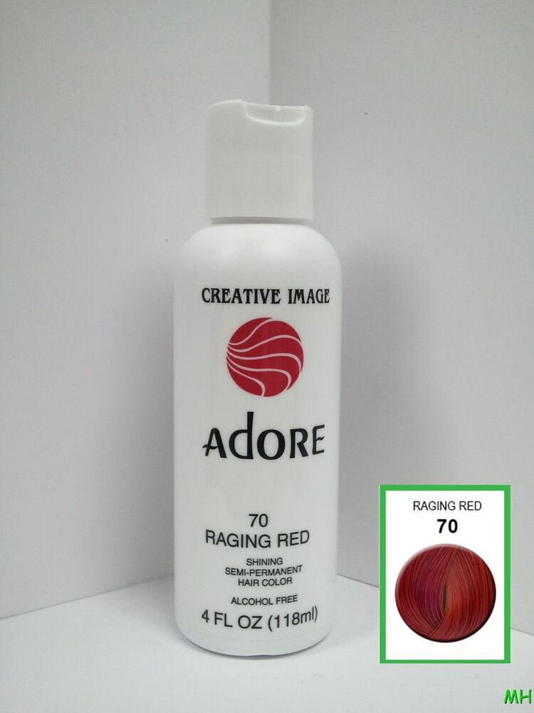 Creative Image Adore Semi Permanent Hair Color 70 Raging Red 4oz