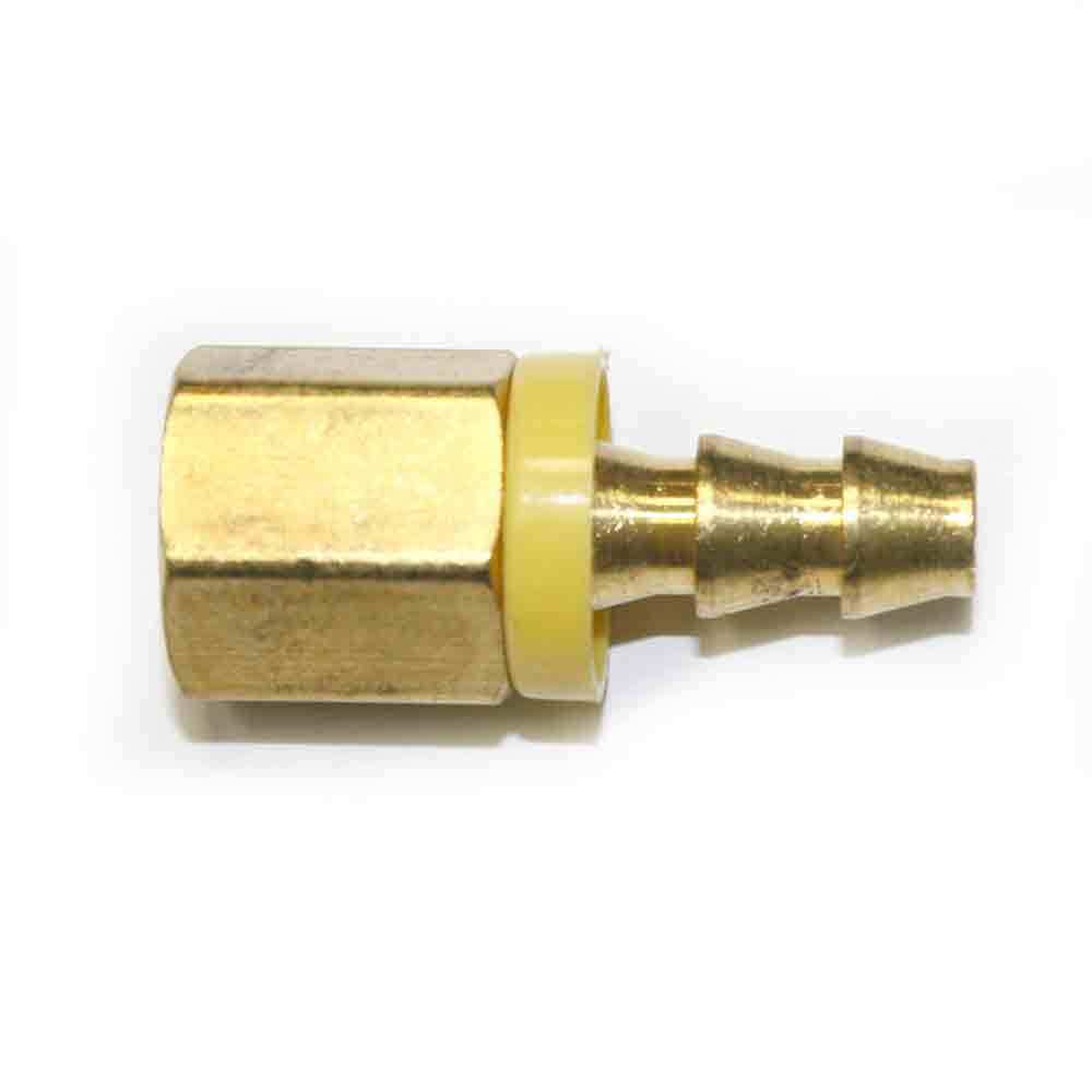 Easy lock brass hose fittings connectors quot push