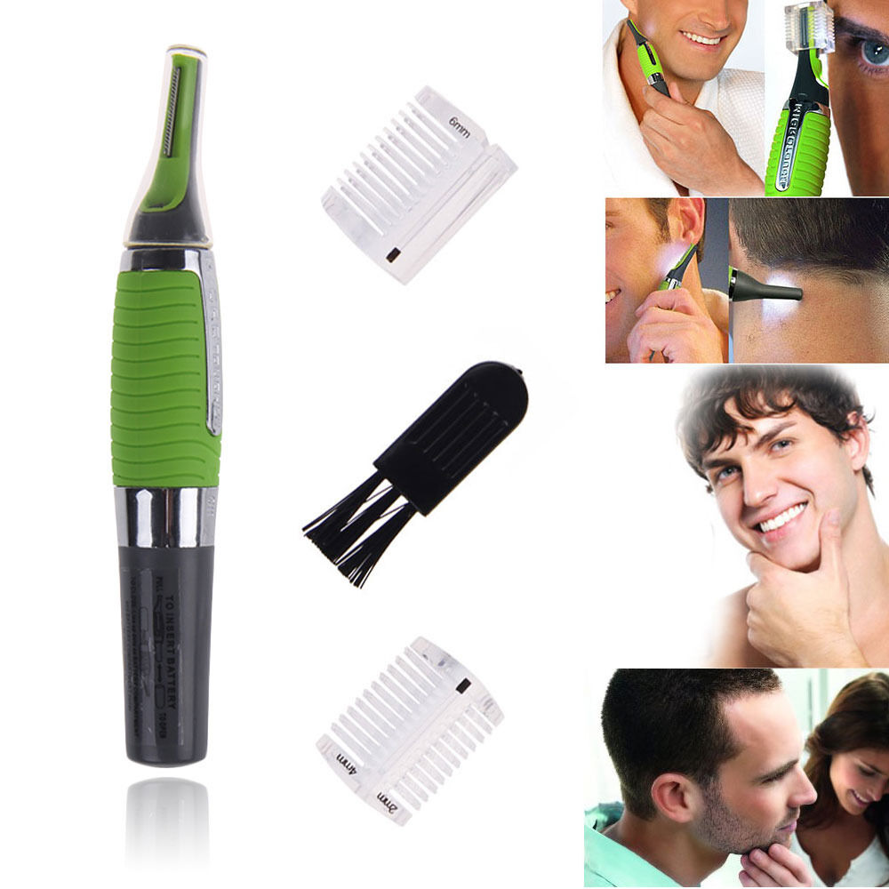 micro touch max nose ear neck eyebrow hair trimmer remover. Black Bedroom Furniture Sets. Home Design Ideas