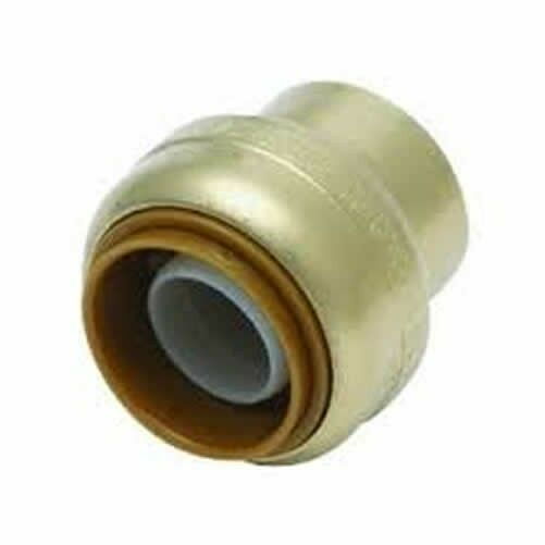 Shark bite u a push fittings end cap inch lfa