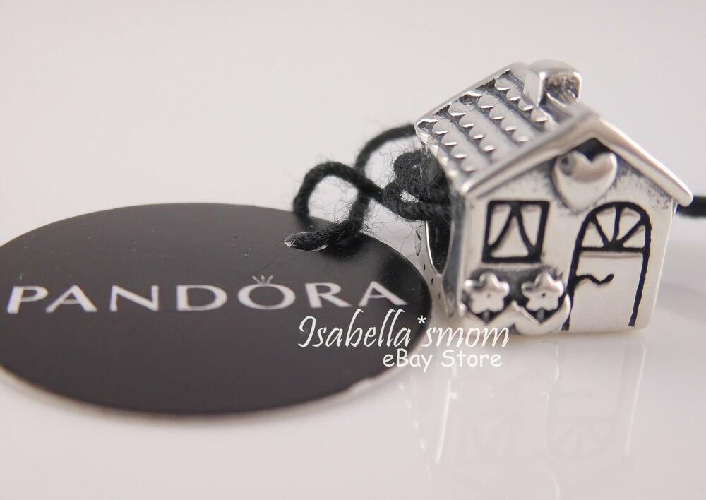 Home Sweet Home Authentic Pandora Sterling Silver House