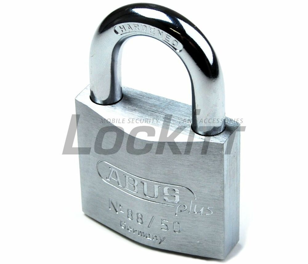 Abus 88 50 Padlock With 2 Plus Keys And Code Card 3 8