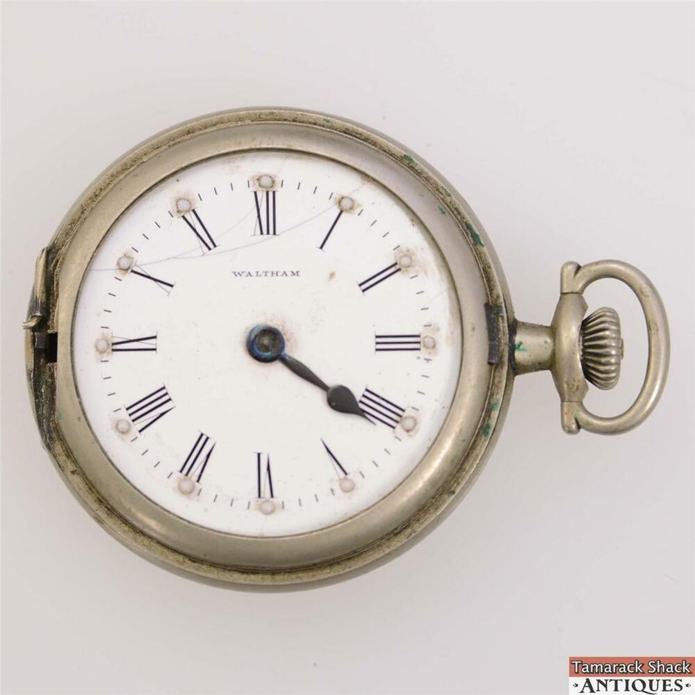 1927 Waltham Traveler 16s 7j Pocket Watch Braille Dial for ...