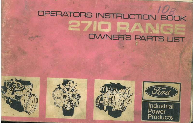 ford engine 2711e 2712e 2713e 2714e 2715e operators manual User Manual PDF Standard Operating Manual