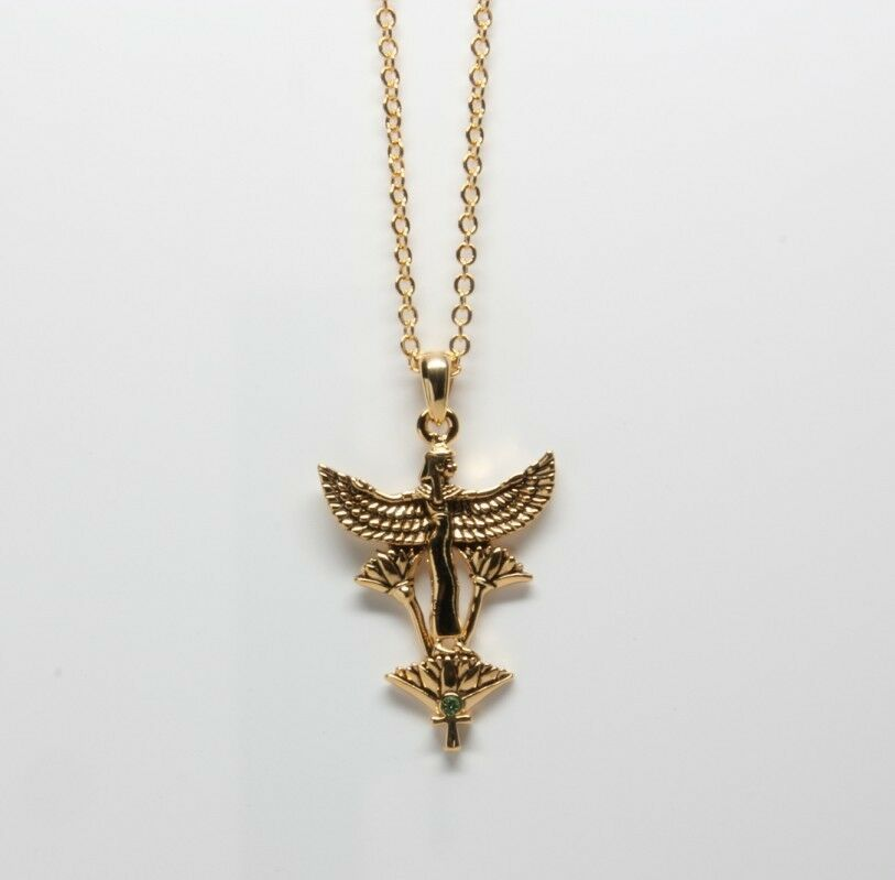 maat goddess necklace pendant concept of