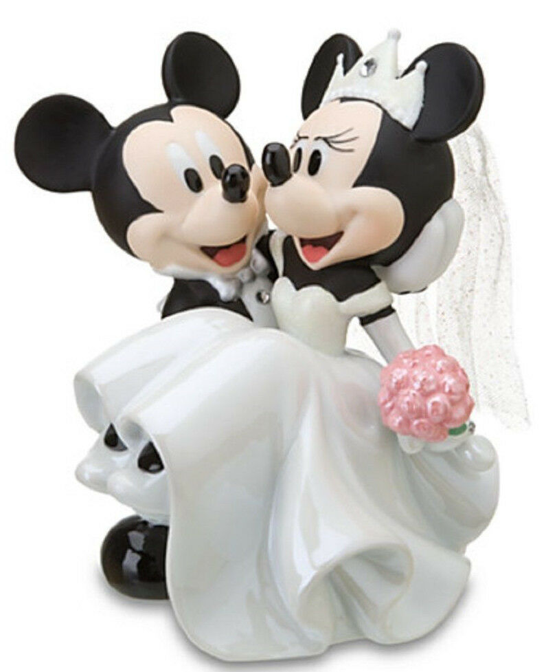 mice wedding cake toppers uk disney wedding minnie mickey mouse figurine ceramic cake 17334
