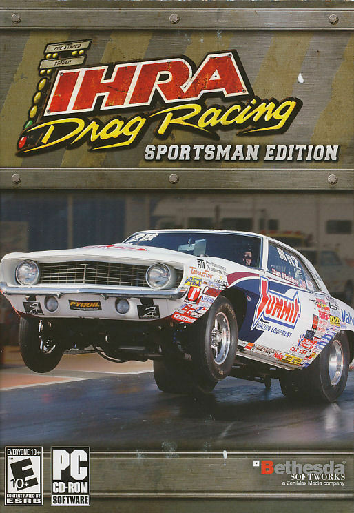 ihra drag racing sportsman edition rare classic drag race pc game new in box 93155120006 ebay. Black Bedroom Furniture Sets. Home Design Ideas