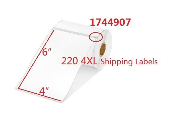 4xthermal premium shipping labels 1744907 dymo compatible for Dymo 4x6 labels