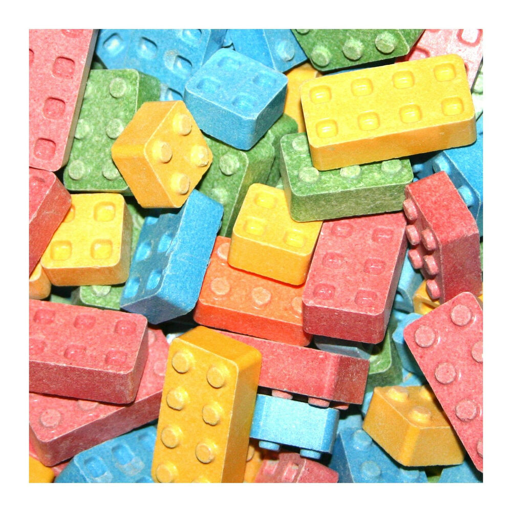 Candy Blox Assorted Uncoated Candy 1 Pound Bulk Vending
