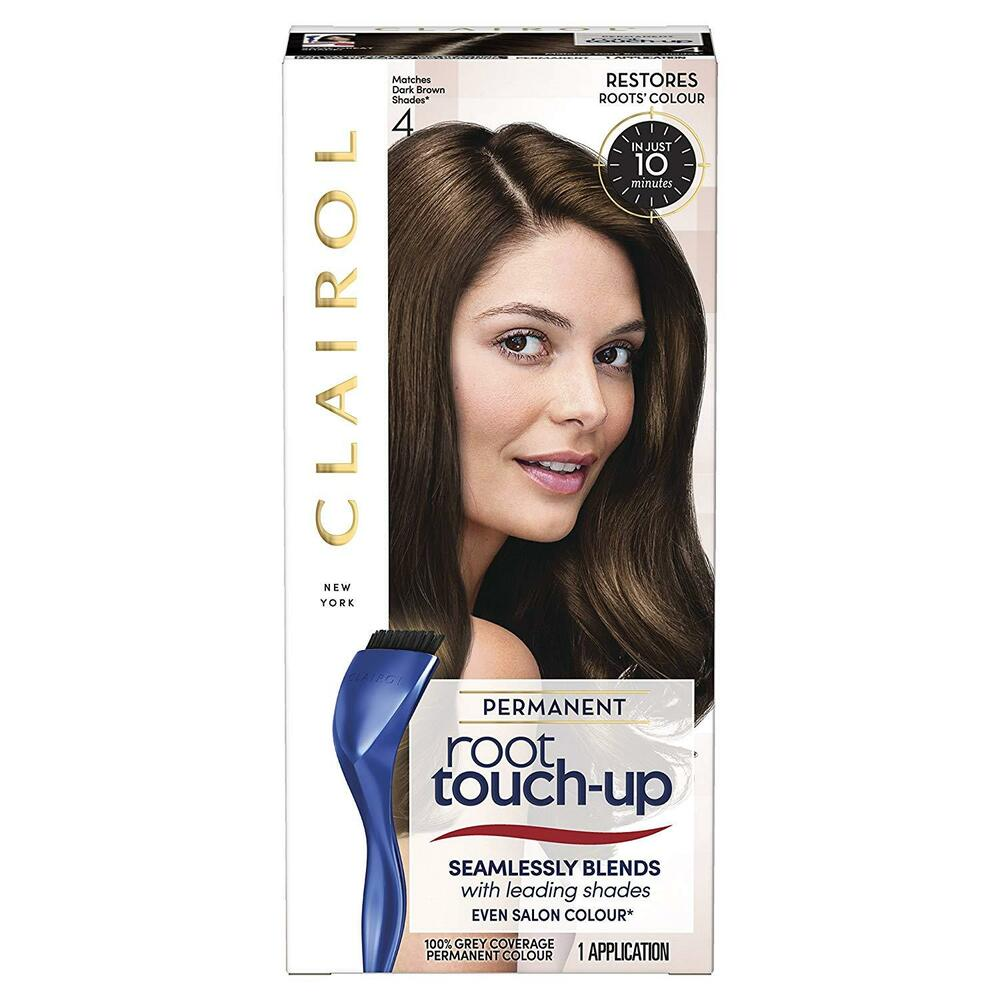 Root Touch Up : Clairol NicenEasy Root Touch Up 4 Dark Brown eBay