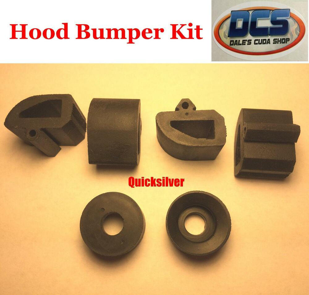 1970 Plymouth Valiant Duster 340 Hood Rubber Bumper Kit