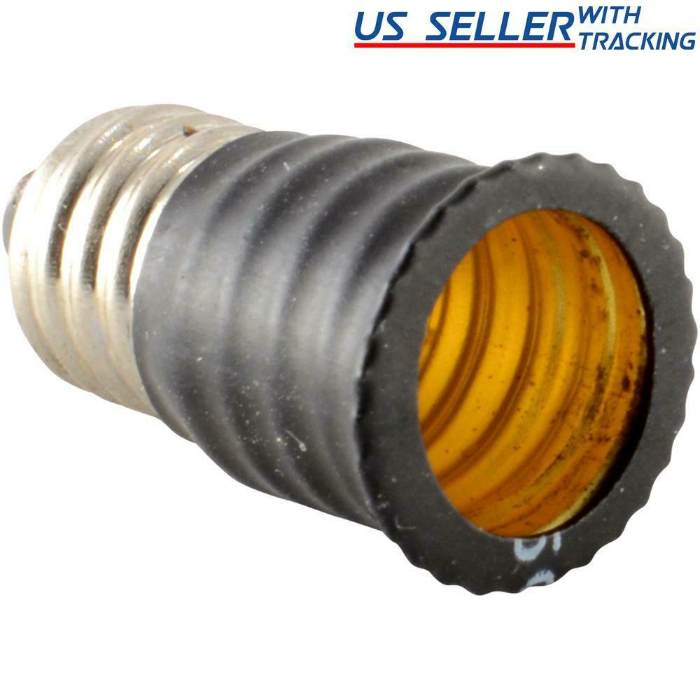 Light bulb socket adapter mini candelabra base e11 to candelabra e12 enlarger ebay Mini bulbs