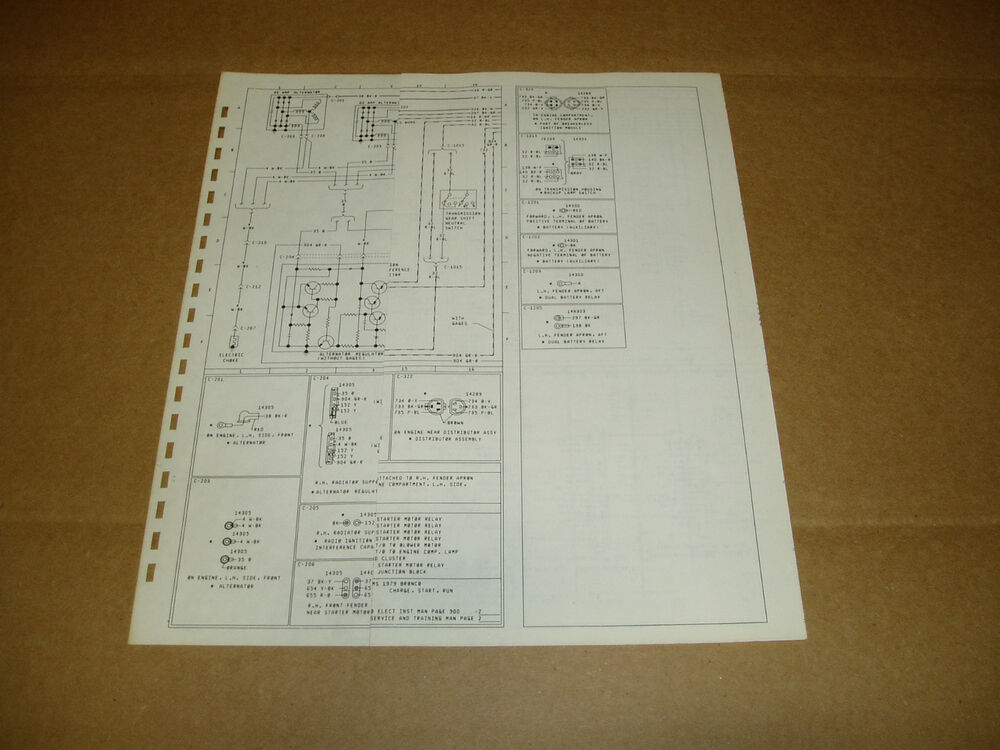 1992 ford e250 wiring diagram 1978 ford econoline van e150 e250 wiring diagram schematic 2011 ford e250 wiring diagram #5