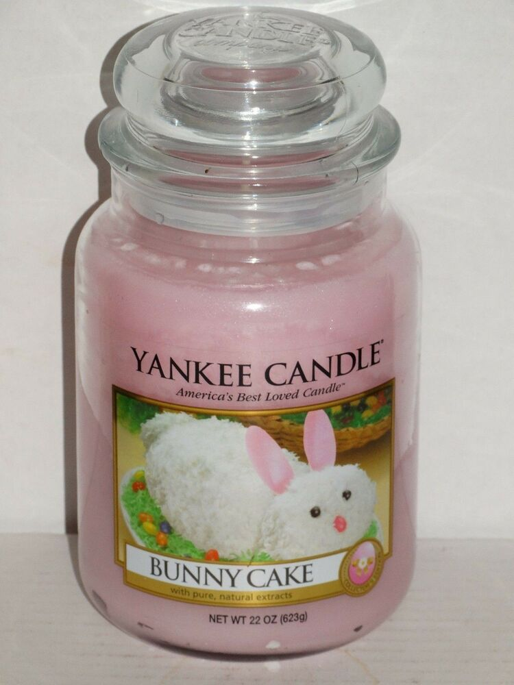 Yankee Candle Cake Images : Yankee Candle Bunny Cake Large Jar Candle 22 oz Easter NEW ...