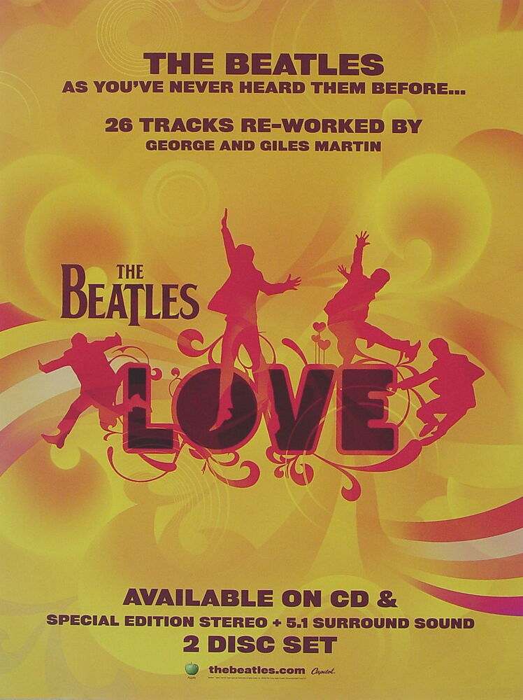 Beatles love discount coupon